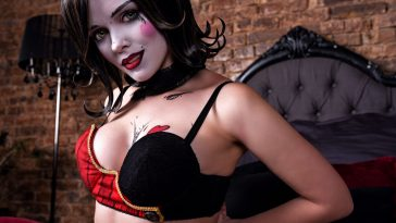 mad moxxi from borderlands by evenink cosplay 001 scaled